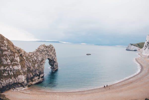 Glamping in Dorset - Jurassic Coast Line