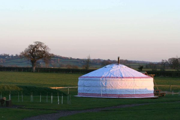 WInter Glamping Breaks In Dorset