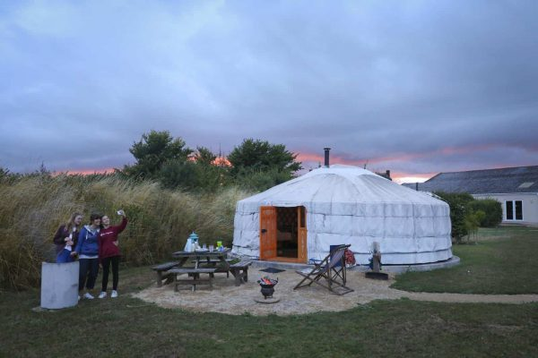 Winter Glamping in Dorset