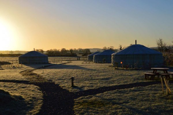 Glamping in Dorset - winter glamping breaks