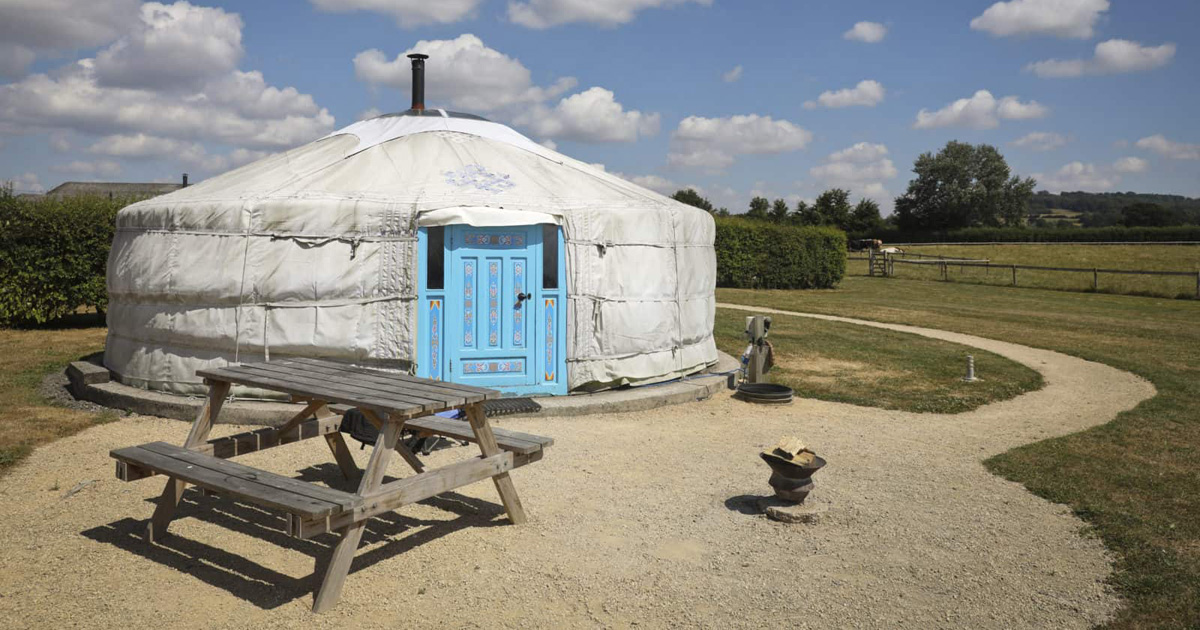Discover More About Our Fantastic Yurts and Glampsite | Caalm Camp