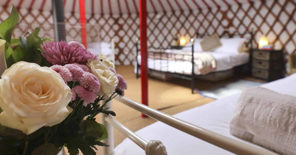 Book a Romantic Glamping Break In Dorset   Caalm Camp